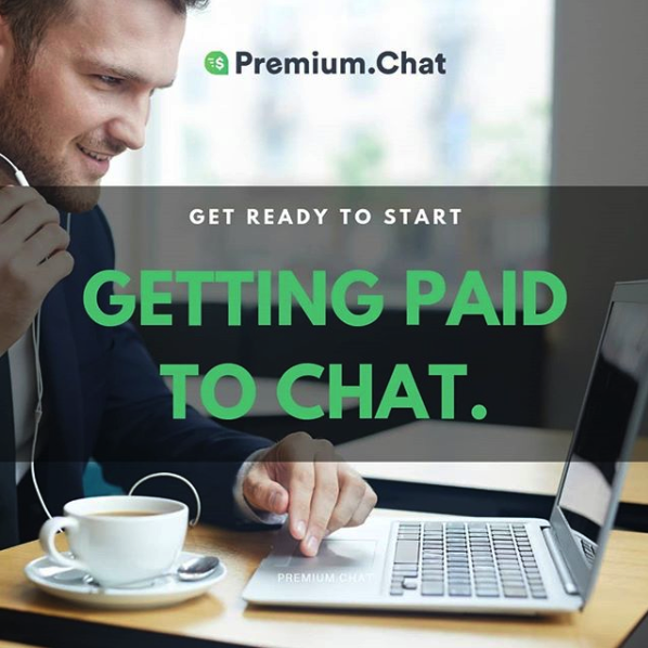 Paid to chat
